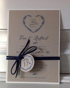 Zauberlicht Einladungskarte Zur Hochzeit Hochzeitspapeterie  Hochzeitseinladung Kartenfächer Floral Romantisch Motiv | HOCHZEIT |  Inspiration | Lavendel ...