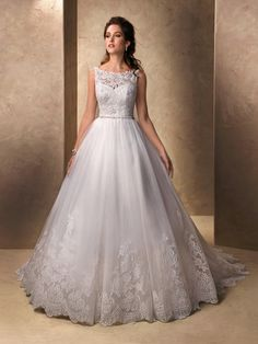 Lovely lace! Maggie Sottero Wedding Dresses - Style Willow 213743 #maggie #sottero #wedding #dress