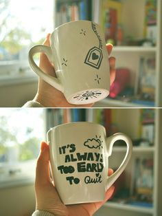Sharpie Mug Deco Tutorial