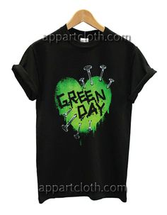 Back To Search Resultsmen's Clothing Strong-Willed Green Day Gas Mask Black Album Cover Punk Rock Music Mens T-shirt T-shirts