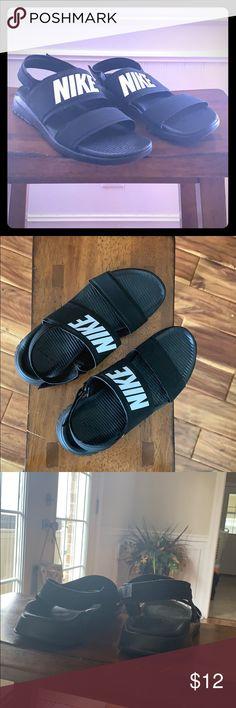 d01ab25382eeb9 Nike Black Sandals Size 10 Mens NWT Nike Sandal