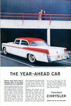 1956 Chrysler Windsor V-8 Advertisement Readers Digest April 1956 | Flickr - Photo Sharing!