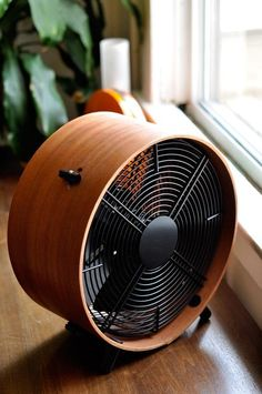 The Decor Friendly Otto Wooden Fan