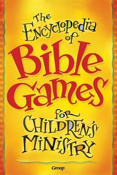 The Encyclopedia of Bible Games for Children's Ministry #childrenMinistry #Offering Sunday School Activities, Church Activities, Bible Activities, Sunday School Lessons, Sunday School Crafts, Church Games, Bible Study For Kids, Bible Lessons For Kids, Kids Bible