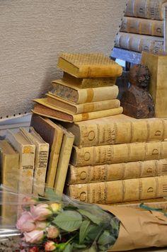 Treasured Books - Velvet and Linen, via Brooke Giannetti