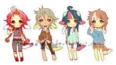 Fluffens: Batch 2 (ended) by Steamed-Bun on deviantART