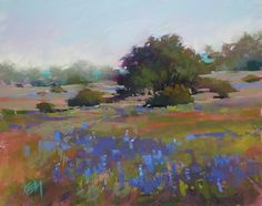 """""""Paint in One of my Favorite Places in US"""" original fine art by Karen Margulis"""