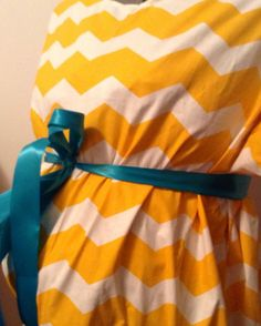 CLEARANCE-Maternity Hospital Gown-Ready to Ship-You choose your size and sash color-Free shipping on Etsy, $45.00