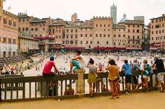 The magic of Palio in Piazza del Campo-Siena
