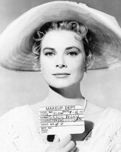 Grace Kelly makeup test for 'The Swan', 1955.