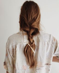 No time for hair do's when youve got little siblings to look after! Loose Braid Hairstyles, Pretty Hairstyles, Loose Braids, Messy Braids, Blonde Hairstyles, Fine Hairstyles, Crown Braids, Updo Hairstyle, Wedding Hairstyles