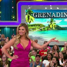 Amber Lancaster - The Price Is Right ♥ Amber Lancaster, Price Is Right, Bikinis, Swimwear, Seasons, Formal Dresses, Sexy, Cute, Beautiful