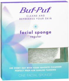 Buf-Puf Regular Facial Sponge 1 Each