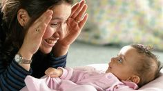 Peek-a-boo would be an example of a sensorimotor child developing object permanence.