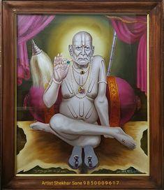 Shiva, Krishna, Chakra Painting, Mahavatar Babaji, Saints Of India, Swami Samarth, God Pictures, Cool Art Drawings, Indian Gods