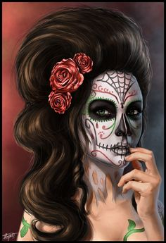 ✯ Day Of The Dead .. By ~Nauvasca✯