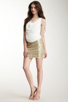 Sequin Skirt Dress by Freeway on @HauteLook