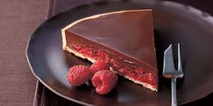 Chocolate & Raspberry Tart - Recipe http://food.ninemsn.com.au/recipes/ichocolate/8350255/chocolate-and-raspberry-tart