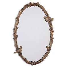 Uttermost 'Paza' Oval Vine Gold Mirror - 15277865 - Overstock.com Shopping - Great Deals on Uttermost Mirrors