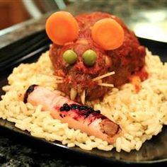 Halloween Bloody Baked Rats Allrecipes.com