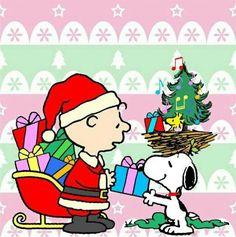 Snoopy Christmas time