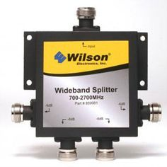 Four way Splitter - Wilson Electronics - 859981