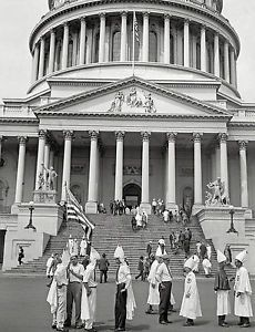 1925. Washington D.C. Klansmen sightseeing at the Capitol 8 x 10 Photograph in Collectibles, Photographic Images, Vintage & Antique (Pre-1940), Other Antique Photographs | eBay