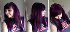 Manic Panic Purple Haze on stripped and bleached hair (previously dark brown/black). URL: ourhopesandexpectations.tumblr.com
