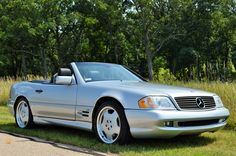 Mercedes SL600 AMG sport package with only 27,000 original miles.