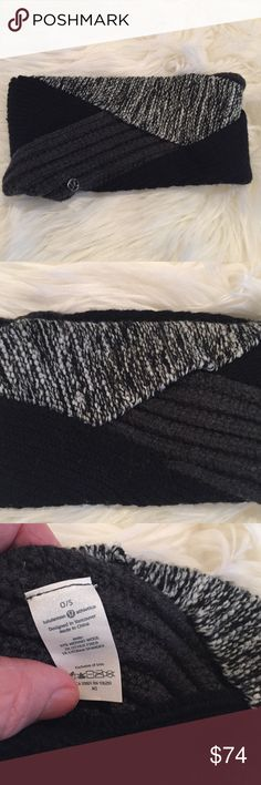 Lululemon Totally Toasty Ear Warmer NWOT Lululemon Totally Toasty Ear Warmer ONLY...Black Heathered Nimbus Heathered Black...these are trending on EBay for over 100 right now...sorry, no trades lululemon athletica Accessories Hair Accessories