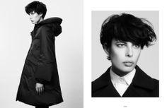 Photography by Maria Karas.  Styling by Hissa Igarashi @ Pure Management.  Hair by Tetsuya Yamakata.  Makeup by Asami Matsuda @ The Magnet Agency.  Model(s) Maja @ Women. Management NYAll clothing by +J Uniqlo.