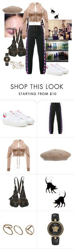 """empire ants"" by syarina ❤ liked on Polyvore featuring adidas Originals, Vetements, Gucci, Alexander Wang and Versace"