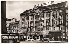 Hotel Excelsior am Anhalter Bahnhof. Excelsior Hotel, Berlin Hotel, Potsdamer Platz, City Scene, Das Hotel, Classical Architecture, Old City, Historical Photos, Germany