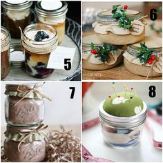 gifts in a jar, 5.  Cake in a Jar @ i am baker    6.  Cinnamon Honey Butter @ TidyMom    7.  Hot Chocolate Mix @ Babble    8.  Sewing Kit @ Momtastic
