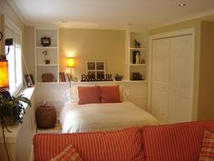 Basement Bedroom bright and airy basement bedroom #incomeproperty #hgtv | bedroom
