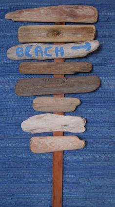 Driftwood Sign Boards--Drift Wood Wedding Beach Decor--DIY Driftwood Wedding Signage--Lot FE27 $14