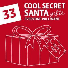 Love this list! It has the most unique secret santa gift ideas that everyone will love.: