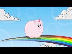 Pink Fluffy Unicorns Dancing on Rainbows xD Rainbows, Dance, My Little Pony, Mlp, Style, Pinkie Pie, Unicorns, Friendship, Swag