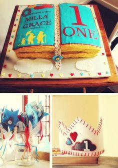 O tema para a festa de 1 ano do meu segundo filho: Once upon a time :)
