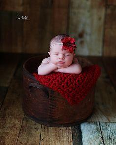 Toddler Red Riding Hood Newborn Photo Prop Sitter