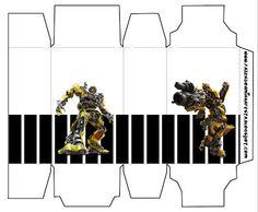 Transformers: cajas para imprimir gratis.