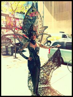 FOLLIES Broadway- Suzanne Hylenski Poses in Costume!