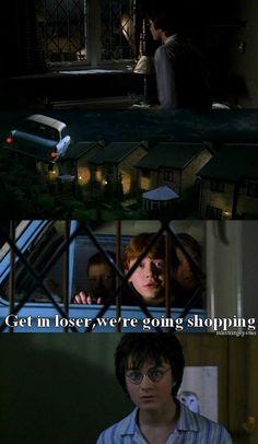 Harry Potter & Mean Girls