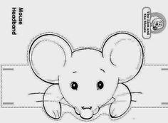 Desenhos e moldes de animais e personagens para contar histórias, usar como fantoches ou chapéus, moldes de eva etc - ESPAÇO EDUCAR