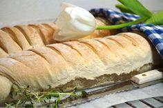 Franska baguetter - Victorias provkök Hot Dog Buns, Hot Dogs, Munnar, Bread Baking, Baguette, Victoria, Lunch, God, Baking