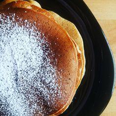 bezglutenowe pancakes z mąki gryczanej
