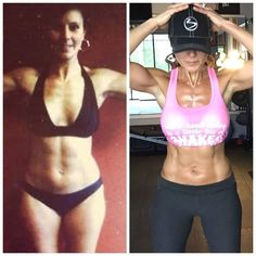 """I wasn't overweight but I wasn't healthy .  I know many of you look at my picture on the left and are thinking """"there's nothing wrong with her she looks great"""".  .  However what you don't know by looking at me is that I WASN'T HEALTHY.  .  I may not have """"looked fat"""" but my body fat was high because I was eating unhealthy junk.  .  In 2008 I FINALLY stopped that yo-yo madness and figured out how to create healthy habits that I could embrace CONSISTENTLY FOR LIFE...not just for a few weeks or…"""