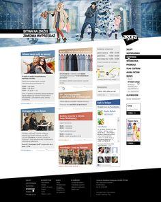 www.agorabytom.pl website design