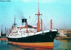 Peleus Merchant Navy, Merchant Marine, Steam Boats, Sport Fishing, Model Ships, Sailing Ships, Cruise, Coast, Planes