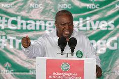 Mahama To Create 5 More Administrative Regions of Ghana
